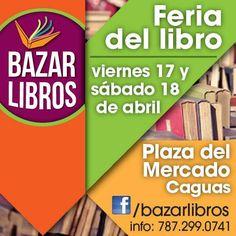 Feria Bazar Libros @ Caguas #sondeaquipr #feriabazarlibros #bazarlibros #plazadelmercadocaguas #caguas