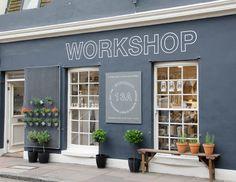 Adorable store front-Workshop, The Lanes, Brighton Pharmacy Design, Retail Design, Shop Window Displays, Store Displays, Brighton England, England Uk, London England, Cute Store, Shops