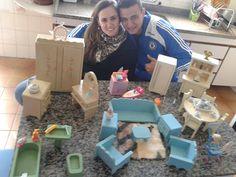 Meus móveis de brinquedo para decoração - Chá Bar André <3 Andréa