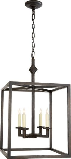 Circa:  STAR LANTERN (possible fixture for hall between kitchen and living room)