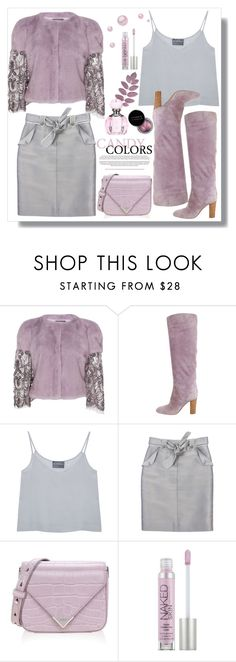 """""""Lavender & Silver"""" by queenvirgo ❤ liked on Polyvore featuring Monique Lhuillier, Sergio Rossi, Antipodium, Carolina Herrera, Alexander Wang, Serfontaine and Urban Decay"""
