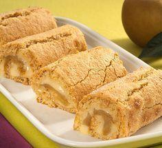 Tortinhas de Canela com Baunilha e Maçã | ReceitaseMenus.net