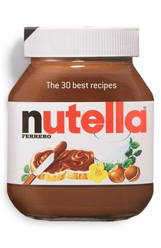 Nutella Recipe Book http://rstyle.me/n/r89r5nyg6