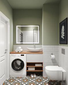 Contemporary Bathroom Designs, Bathroom Design Small, Bathroom Interior Design, Laundry Room Design, Apartment Interior, Apartment Design, Home Interior, Design Living Room, Home Room Design