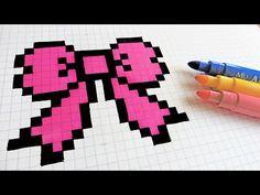 Handmade Pixel Art - How To Draw Cherries #pixelart - YouTube