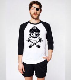 Camiseta Estampa 'Piratas do Cogumelo' no Camiseteria. Autoria de Douglas Evangelista