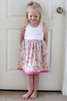 Little Girl's Tank Dress