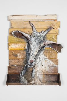 Artist Bordalo II just opened the doors to his largest body of work to date, dozens of animalistic assemblages comprised of his trademark medium: trash. Using locally-sourced waste plastics, car parts, construction materials, and other found d
