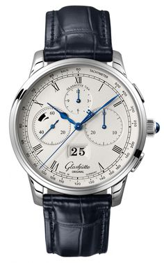 Glashutte Original Senator Chronograph Panorama Date in platinum