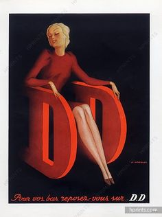 DD - Doré Doré (Stockings) 1951 L. Gadoud