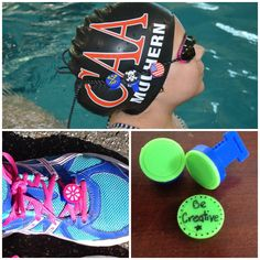 Sports Stud ID tags - the PERFECT stocking stuffer for the swimmers, laxers and other little athletes on your list! www.sports-studs.com