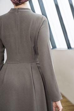 Dress Vintage - Robes - Shop - Ziano Abaya Fashion, Muslim Fashion, Fashion Dresses, Maxi Dresses, Hijab Dress, Hijab Outfit, Modele Hijab, Hijab Fashionista, Abaya Designs