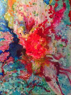 La Fleur, painting by Erica Geralds