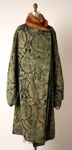 Paul Poiret - Couture - Manteau du Soir - Années 20