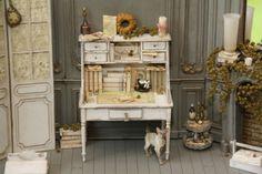 Möbel bastelsets,artofmini.com, kits, zelfmaak, hobby, 1:12, dollhouse, poppenhuis, miniaturen, miniatures