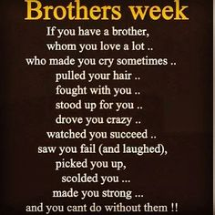 Brotherly Love Quotes Unique Brotherly Love Quotes  Google Search  Ty  102985  42415