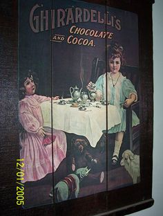 Dried Raisins, Wooden Rack, Cocoa, Decoupage, Tray, California, The Originals, Poster, Painting