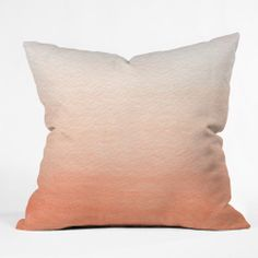 Peach Ombre Cushion Pillow Cover by DENY Designs on POP.COM.AU