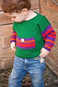 Baby Sweater Boys Hand Knit  Childrens by YellowHouseKnits on Etsy, $60.00