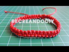 YouTube Bracelet Knots, Bracelets, Nudo Simple, Paracord, Make It Yourself, Crafts, Jewelry, Maya, Youtube