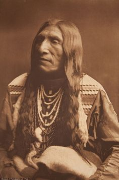 Native American Indian Man.