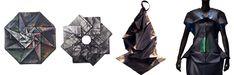 Issey Miyake's amazing folded fabrics