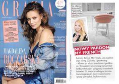 Pardon My French w najnowszym magazynie Grazia! Dziekujemy!