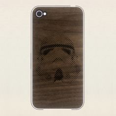 A real wood (walnut) skin for your iPhone 4/4S to cover the back, sides and front. Our design is unique for its complete coverage of the corners. Only cover the parts you want to!    Back has in-house designed engraved artwork.    Note: Skins are made of real wood and will vary from the sales ima...