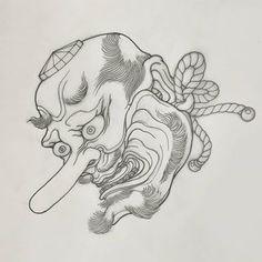 Japanese Tattoo Art, Japanese Tattoo Designs, Japanese Painting, Japanese Art, Japanese Illustration, Illustration Art, Traditional Japanese Tattoos, Japan Tattoo, Irezumi