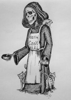 Death Discworld Pratchett Amy Simmonds