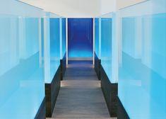 Clínica Dental Nart Arquitectura Interior y Lighting Design Un proyecto capaz de lograr la mejor predisposición del paciente hacia el tratamiento. Transmitir sensaciones de tecnología eficacia y precisión y provocar un recuerdo amable y diferenciado. Lighting Design, Stairs, Interior Design, Architecture, Home Decor, Architects, Interiors, Blue Prints, Arquitetura