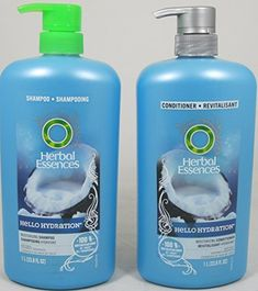 Herbal Essences Hello Hydration Moisturizing Shampoo and Conditioner Duo, (33.8 Fl. Oz. Each) by Herbal Essences -- Check out the image by visiting the link. #hairupdos