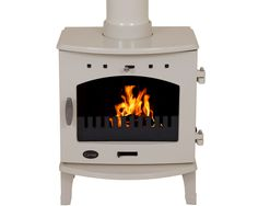 The Carron Sage Green Enamel Multi Fuel / Wood Burning Stove has been DEFRA approved, allowing the burning of wood in smoke controlled zones. Constructed of robust cast iron, the plain design makes it suited to almost any room. Flame Picture, Little Greene Paint, Wood Fuel, Seasoned Wood, Multi Fuel Stove, Cast Iron Stove, Cast Iron Radiators, Pine Doors, Saag
