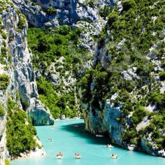 Provence france, Gorges du Verdon in the Luberon #IveBeenHere