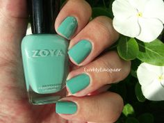LuvMyLacquer: Getting Fancy With Zoya Wednesday