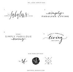Elegant, craftsman logo design