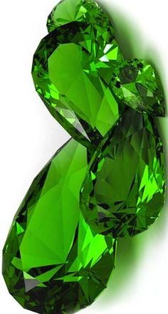 Pear shaped Emeralds...