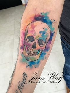 Tattoo artist from Mexico City. Skull Girl Tattoo, Skull Tattoos, Body Art Tattoos, Tattoo Drawings, I Tattoo, Drug Tattoos, Wolf Tattoos, Girl Tattoos, Tatoos