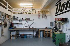 Donhou Bicycles workshop