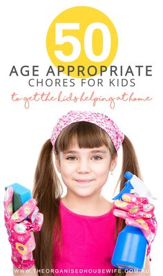 I remember when my kids first asked to unpack the dishwasher I didn't think they were capable. However, I was wrong. Allow your kids to give it a go, you can't pass up an opportunity for help and you might be pleasantly surprised at how much they can do.    I've put together a list of age appropriate chores for kids. Feel free to adapt the lists to what you think will fit best with you and your child/children's capabilities.
