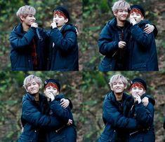 TaeTae and Suga! ^^#Cute