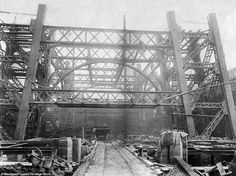 Never-before-seen shots show Blackpool Tower being built 125 years ago Blackpool Promenade, Blackpool Beach, Old Pictures, Old Photos, Eddie Stobart Trucks, Blackpool England, Shot Show, Tower Building, Paris Eiffel Tower