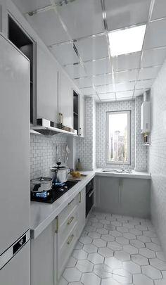 Kitchen Cupboard Designs, Kitchen Room Design, Home Room Design, Modern Kitchen Design, Home Decor Kitchen, Small Modern Kitchens, Modern Kitchen Interiors, Small House Interior Design, Small Room Design