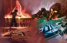 La battaglia del labirinto
