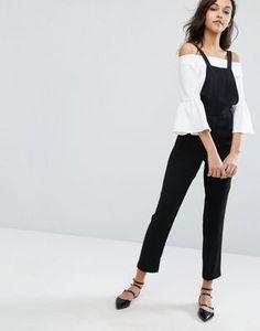 ec6740dd8ae Miss Selfridge Tailored Overall Jumpsuit Miss Selfridge Playsuit