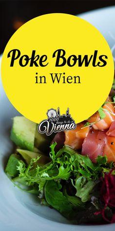 Wien ist auf den Trend-Zug aufgesprungen und verköstigt nun auch unsere Gaumen mit den tollen Poke Bowls Kreationen. Unsere Lieblingslokale und solche, wo wir der Meinung sind, dass es gute Bowls gibt, haben wir euch am Blog gelistet. Schaut doch mal hier in den Blogbeitrag hinein. Restaurant Bar, Hawaii, Poke Bowl, Vienna, Austria, Bowls, Restaurants, Lifestyle, Places