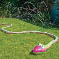 Look at this Wigglin Water Snake Sprinkler by Small World Toys Small World, Kids Sprinkler, Sprinkler Party, Backyard Toys, Backyard Ideas, Lawn Sprinklers, Kids Tents, Electronic Gifts, Outdoor Fun