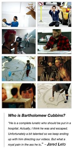Who is Bartholomew Cubbins by Jared Leto || I can't love this guy more... or Im going to explode xD