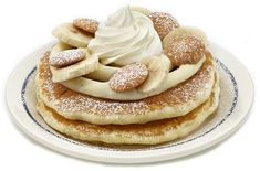 I sooo want to try these! IHOP Summer Stacks - Banana Pudding Pancakes!
