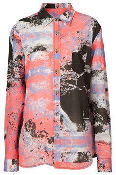 Makin Jan Ma Print Long Sleeve Shirt
